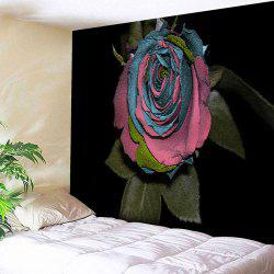Wall Art Rose Flower Print Bedroom Tapestry -