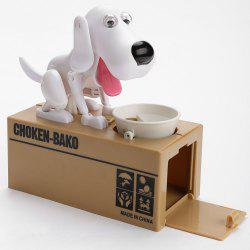 Cute Electric Hungry Eating Dog Money Boxes -