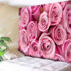 Valentine's Day Rose Print Wall Hanging Tapestry -