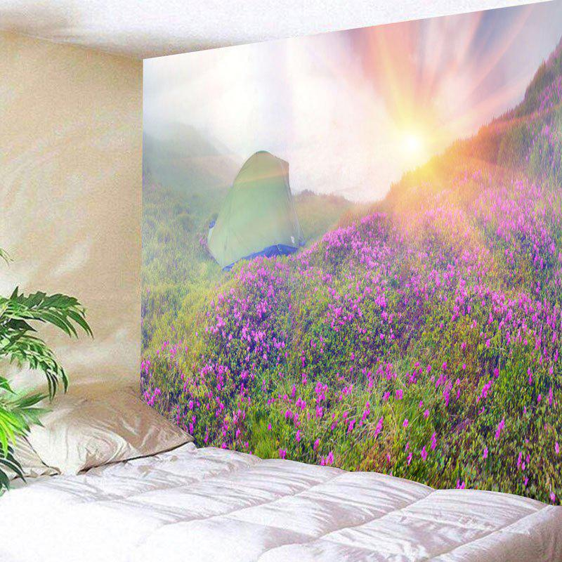 Chic Wall Hanging Sunrise Wild Tent Print Tapestry