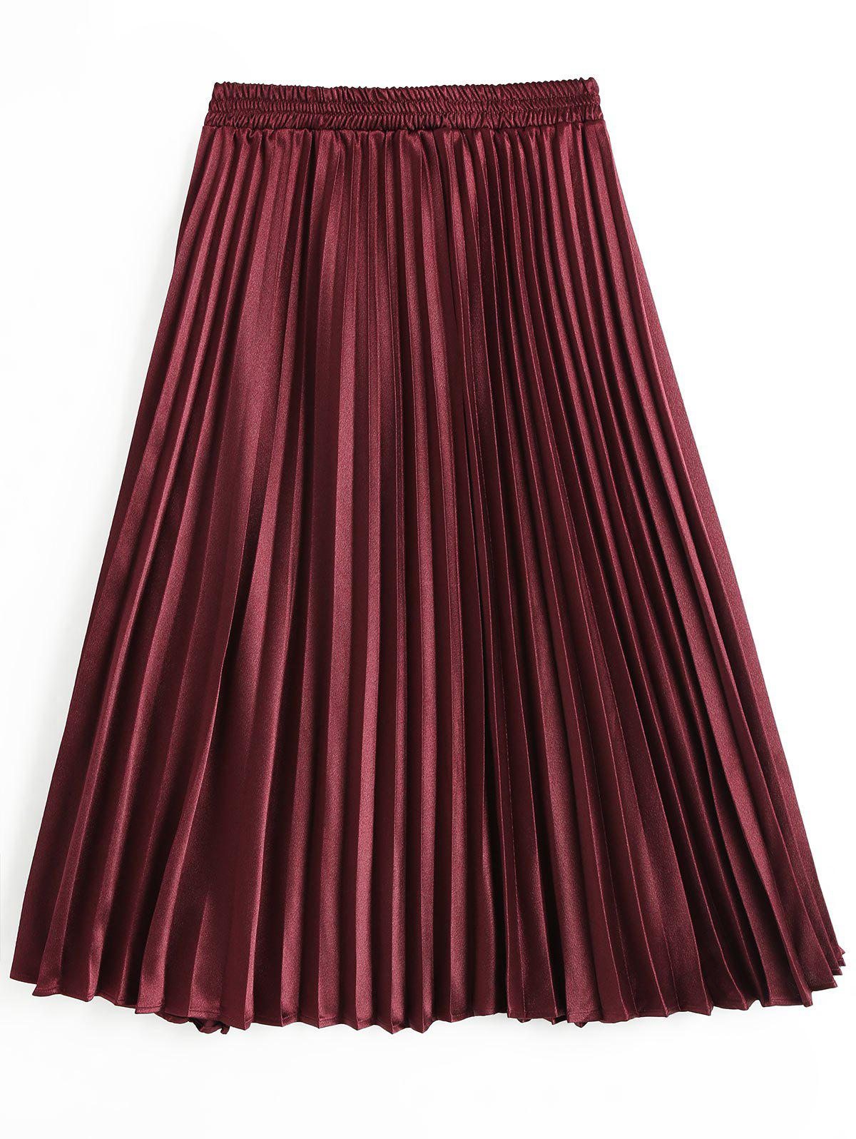 New High Rise Pleated Skirt