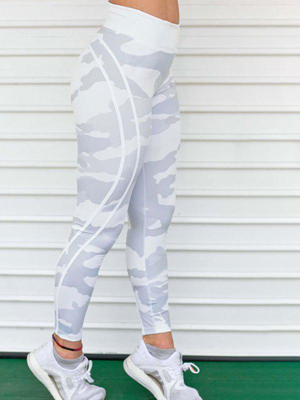 New Camouflage Print Active Leggings