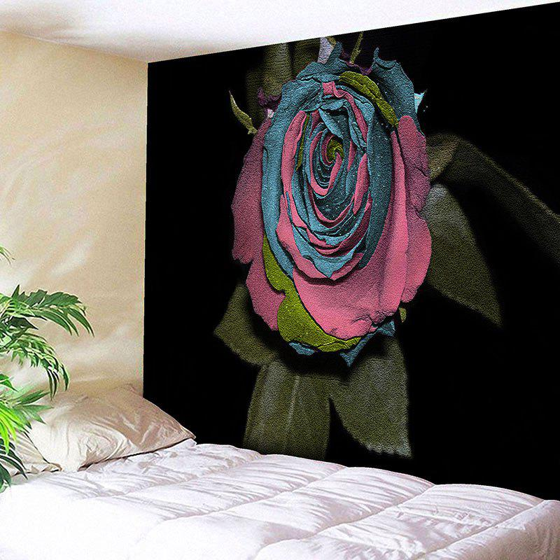 Trendy Wall Art Rose Flower Print Bedroom Tapestry