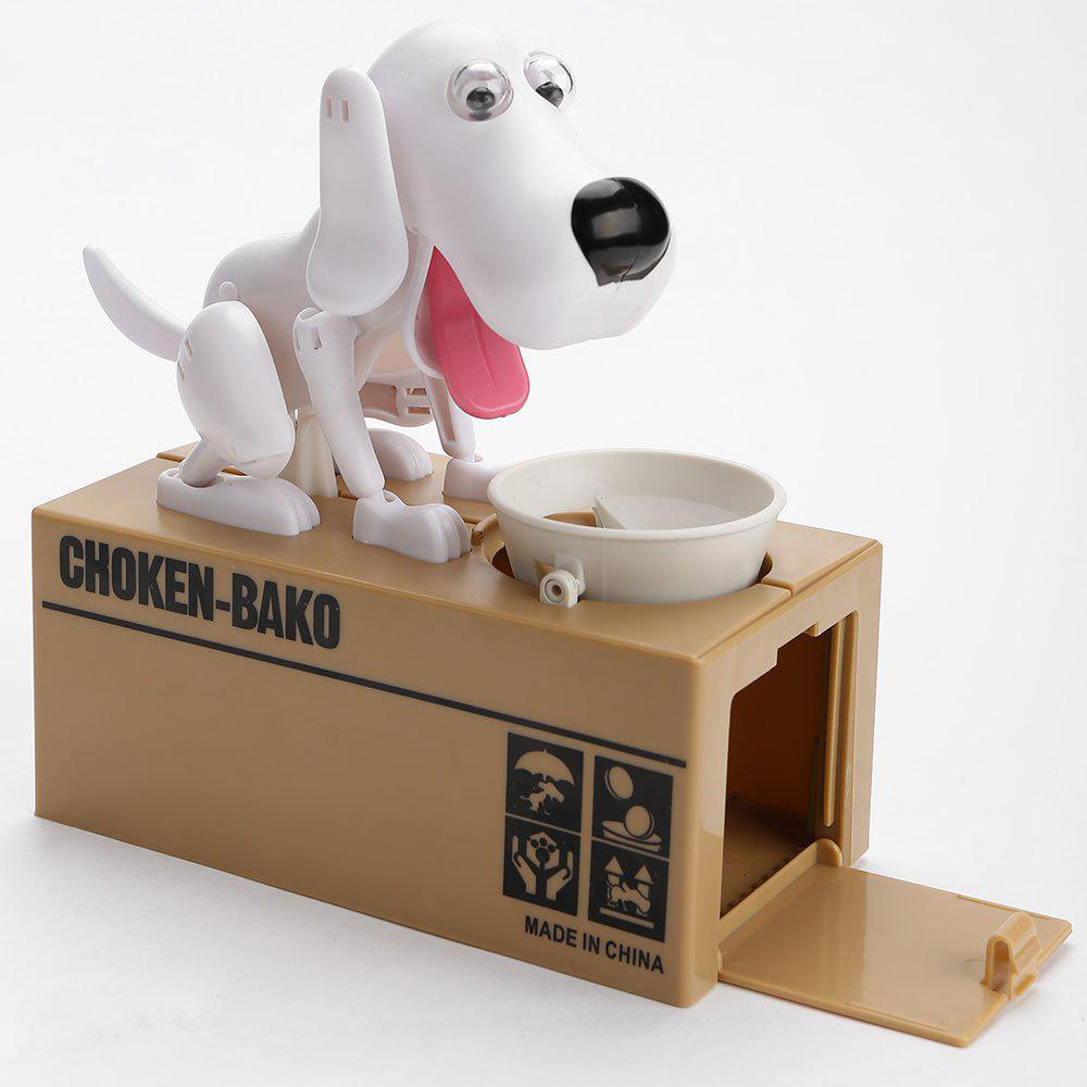 Unique Cute Electric Hungry Eating Dog Money Boxes