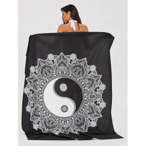Tapestry Rectangle Tai Chi Beach Throw -