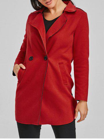 Sale Lapel Wool Coat