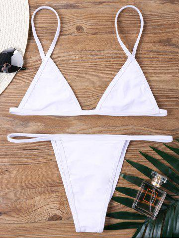 Bralette Low Waist Bikini Set