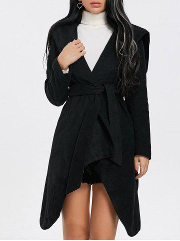 Best Hooded Wrap Belted Coat