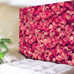 Wall Hanging Valentine's Day Petals Print Tapestry -