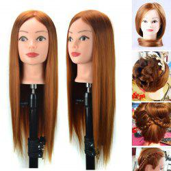 Hair extensions cheap clip in hair extensions online best sale head mannequin clamp long straight synthetic wig for practice training pmusecretfo Image collections