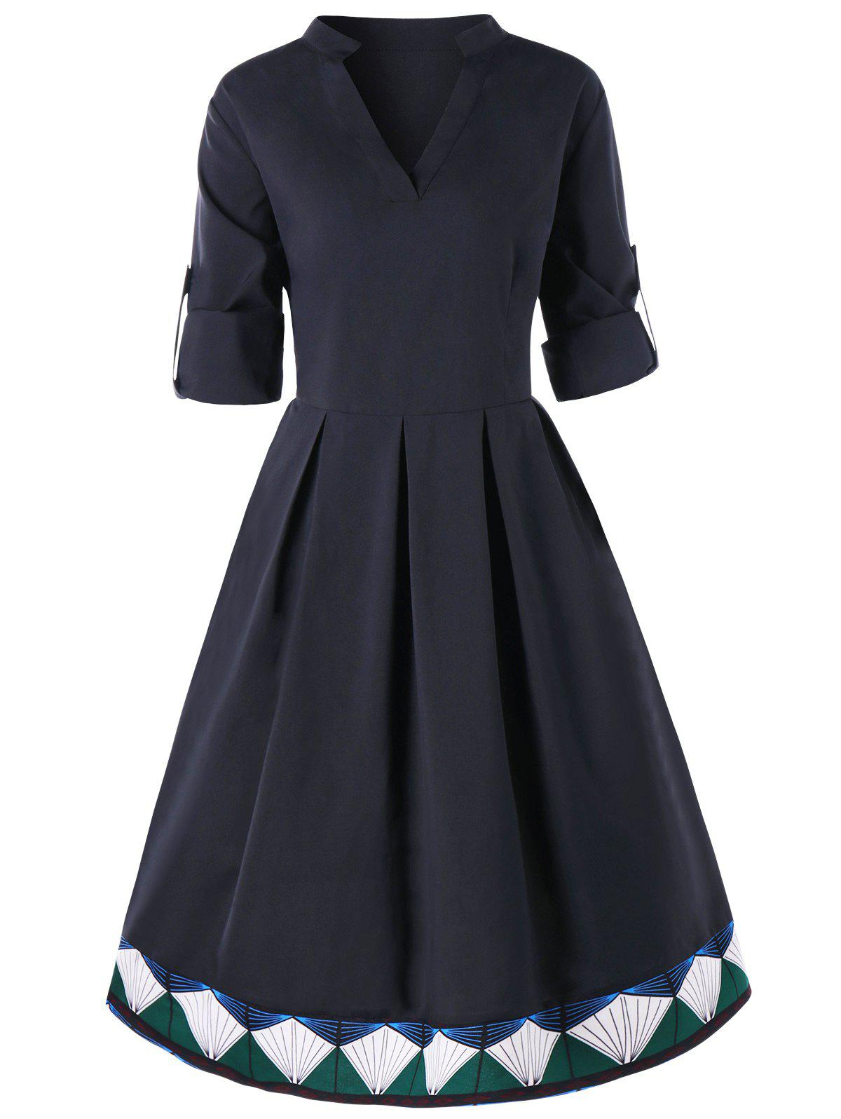 Best Plus Size Midi Fit and Flare Skater Dress