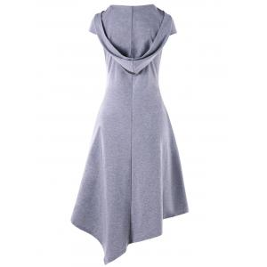 Mouchoir découpé Midi Swing Dress -
