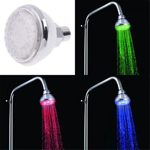 Outfits Temperature Control LED Alternating Luminous Shower Head