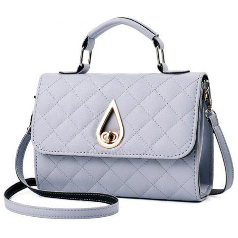 Sale Quilted Twist Lock Flap Handbag
