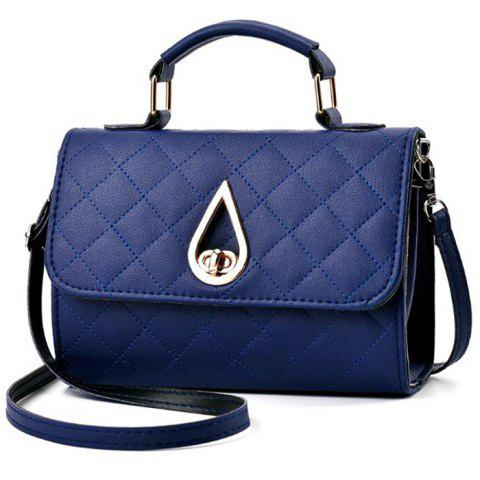 Outfit Quilted Twist Lock Flap Handbag