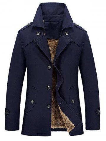 Lapel Single-Breasted Slim Jacket
