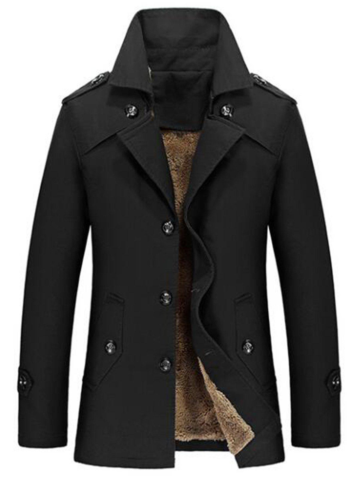 Hot Lapel Single-Breasted Slim Jacket