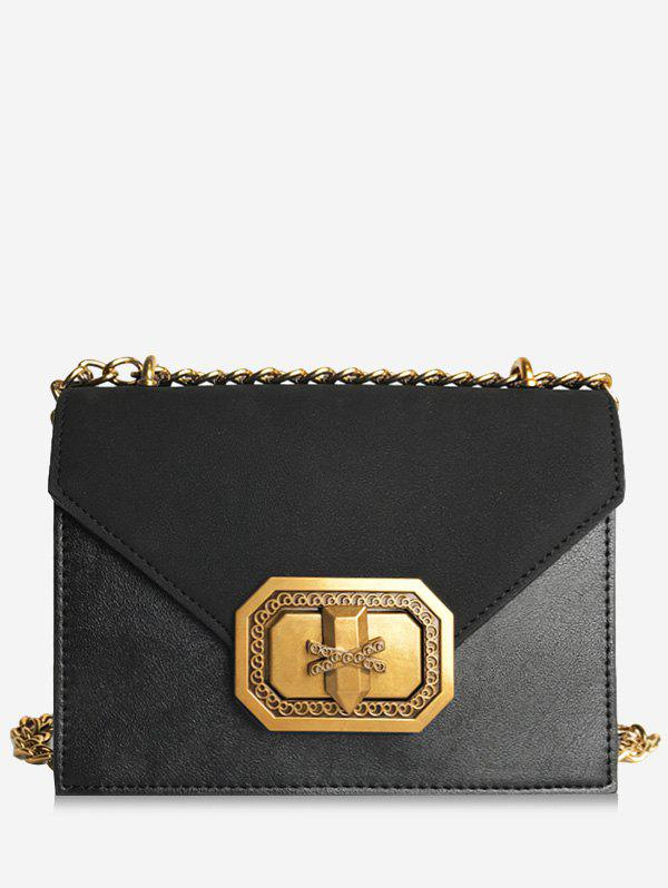 Shop Chain Metal Embellished Crossbody Bag