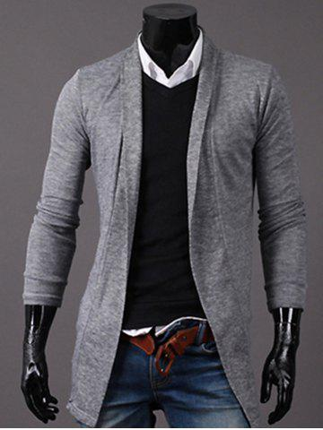 Latest Knitted Open Front Longline Cardigan