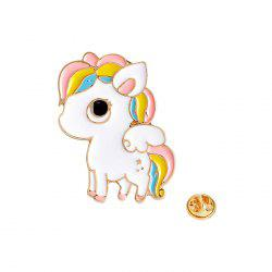 Adorable Metal Little Pony Brooch -