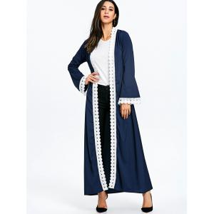 Maxi Arabic Coat with Tie Belt -