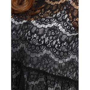 Plus Size Lace Blouse with Camisole -