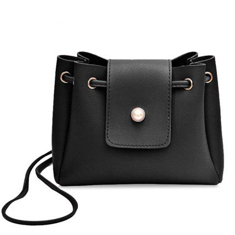 Unique Faux Pearl Decorative Small Crossbody Bag