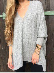 V Neck Boyfriend Sweater -