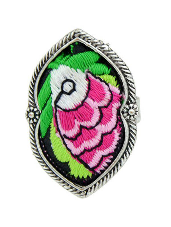 Cheap Ethnic Style Embroidery Fish Pattern Ring