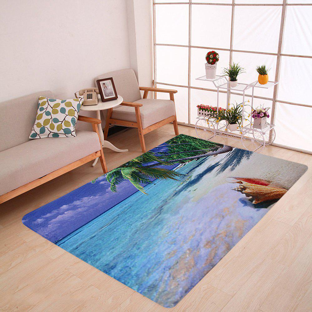 Water Absorbent Fleece Beach Area Rug