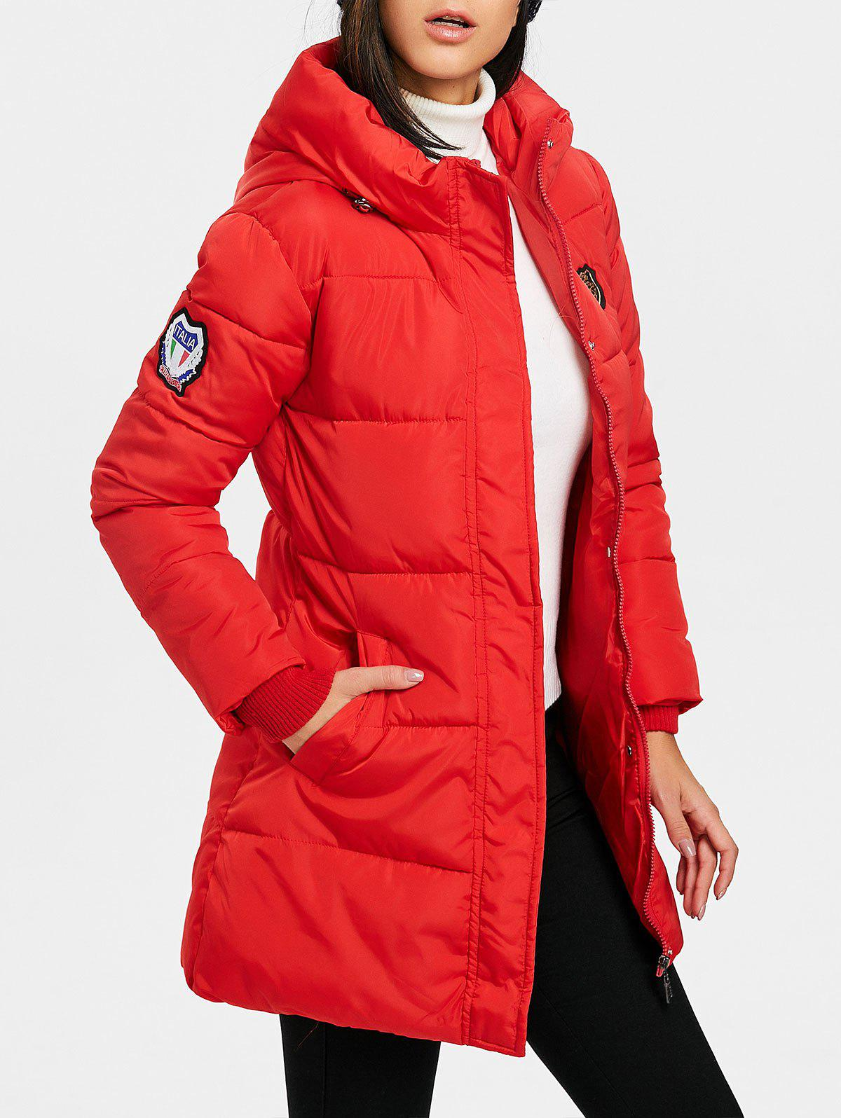 Sale Hooded Puffer Jacket