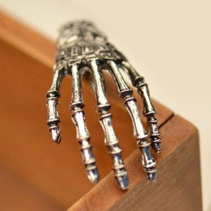 Outfit Gothic Alloy Skeleton Hand Hairpin