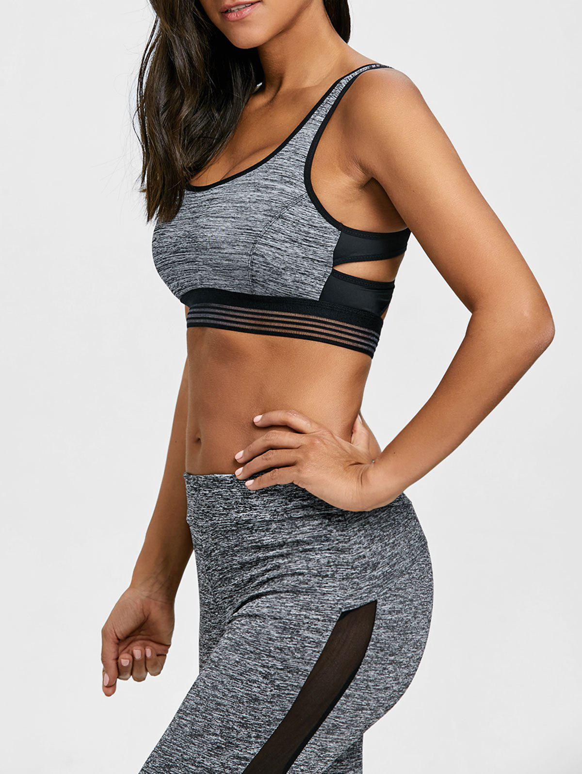 Outfit Padded Strappy Sports Bra