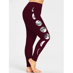 Plus Size Monochrome Leggings -
