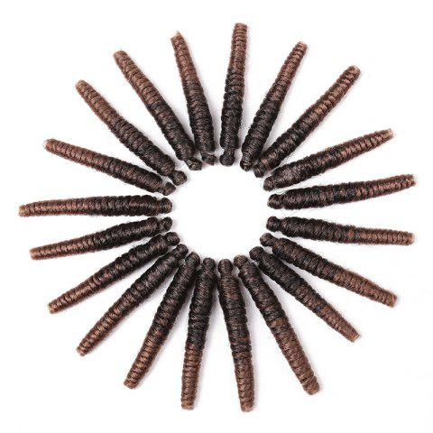 Chic 20 Roots/Pack Spring Twisted Crochet Braids Synthetic Hair Extensions
