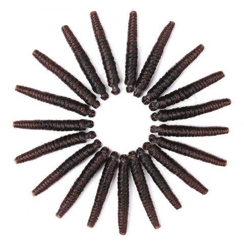 Fashion 20 Roots/Pack Spring Twisted Crochet Braids Synthetic Hair Extensions