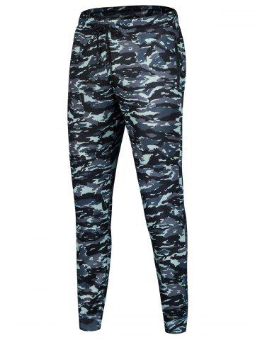 Hot Drawstring Sports Camo Jogger Pants