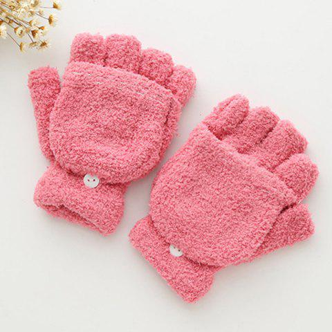 Shops Cashmere Fingerless Hooded Winter Gloves