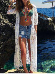 Floral Printed Maxi Cover Up -