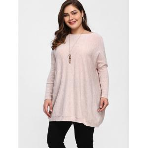 Dolman Sleeve Plus Size Tunic Sweater -