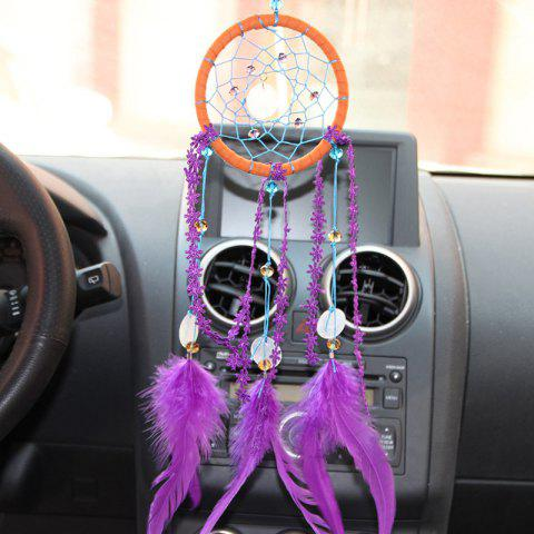 Outfit Shell Faux Crystal Feather Handmade Dreamcatcher Decoration
