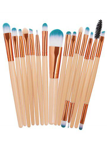 Hot Professional 15Pcs High Quality Fiber Hair Cosmetic Makeup Brush Set