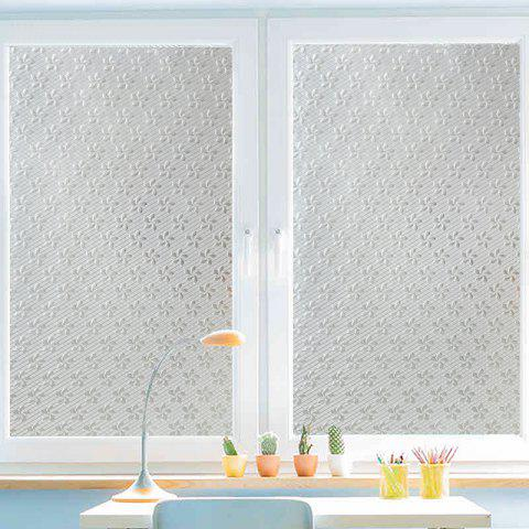 Cheap One Roll Flowers Pattern Window Film Sticker
