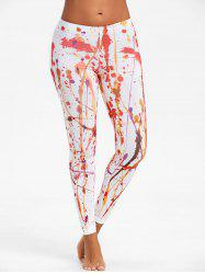 Blood Splatter Paint Leggings -