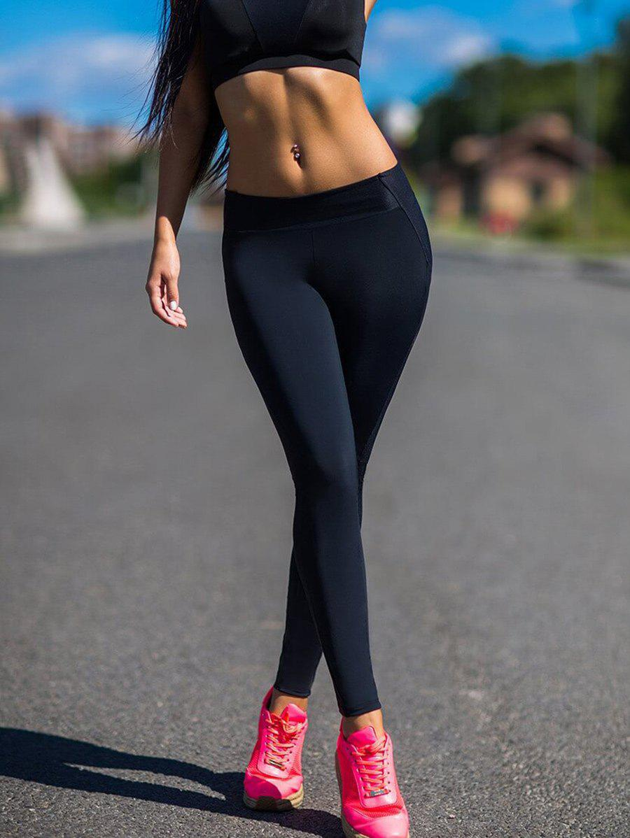 Sale Back Heart Shape Yoga Leggings