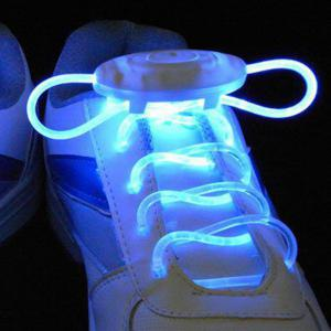 Pair of Light Up Laces LED Shoelaces -