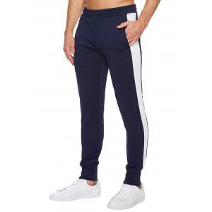 Single Stripe Trim Stretch Jogger Pants -