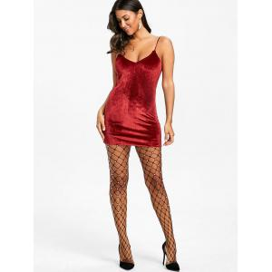 Faux Pearl Big Fishnet Pantyhose -