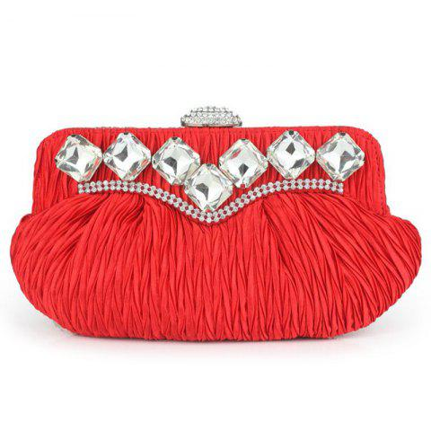 Buy Rhinestone Evening Bag with Chain