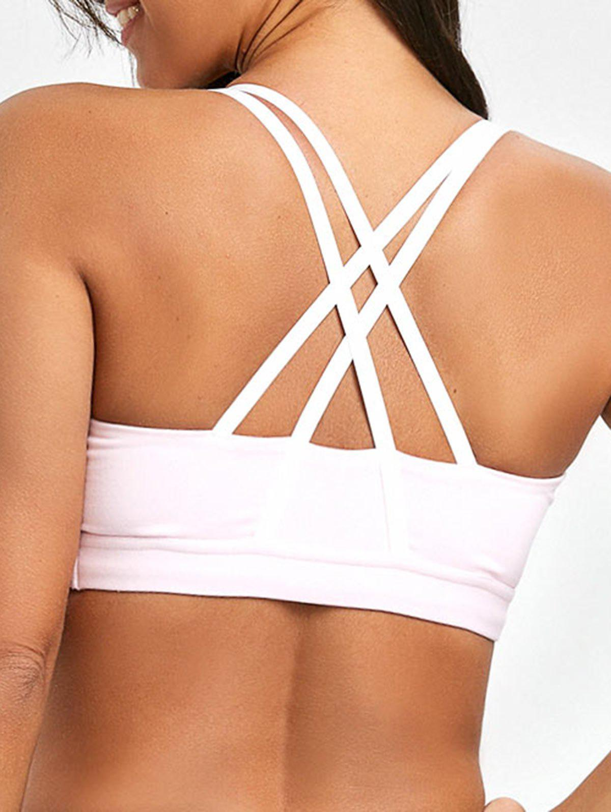 Outfits Padded Strappy Pull On Sports Bra